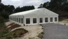 Removable pavilions