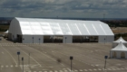 Temporary storage tents